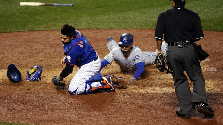 After Eric Hosmer's Dash, Things Aren't Much Better for Mets Fielders Involved
