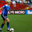 Rapinoe locks arms with teammates during anthem