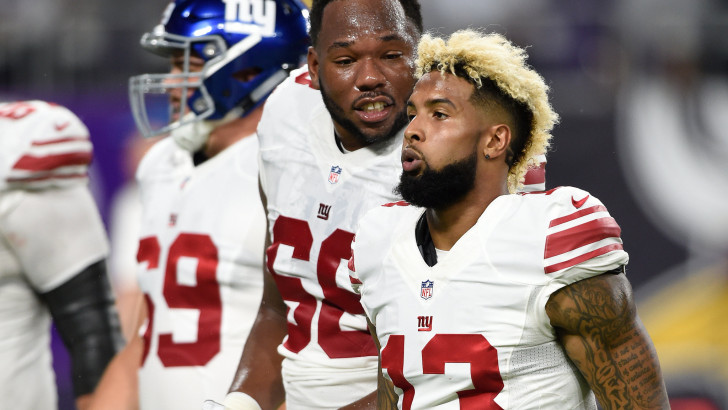 After Another Giants Loss, the Talk Is All About Odell Beckham Jr.