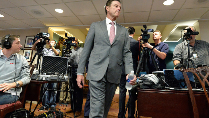 On College Basketball: Louisville's Rick Pitino Claims Dominion, Except When Scandal Hits