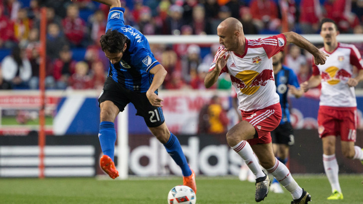 Impact 2, Red Bulls 1 | Second leg | Montreal advances on aggregate, 3-1: Impact Top Red Bulls on Piatti's Two Goals and Advance in M.L.S. Playoffs