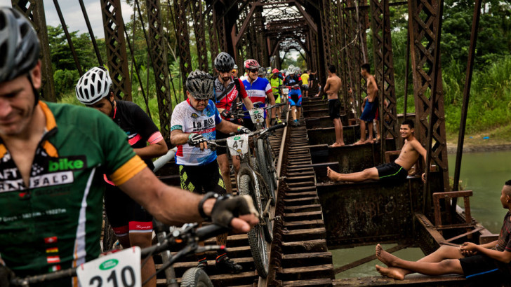 Conquering River, Jungle and the World's Toughest Bike Race