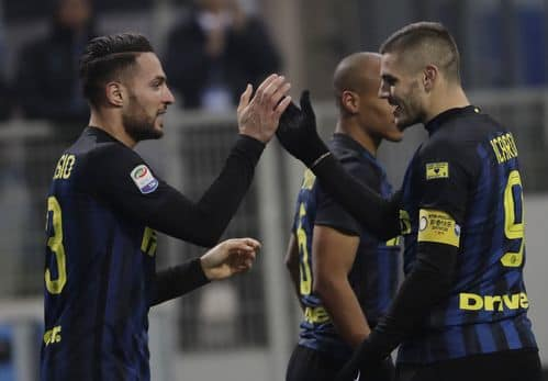 Inter beats Pescara 3-0 to rise to 4th in Serie A