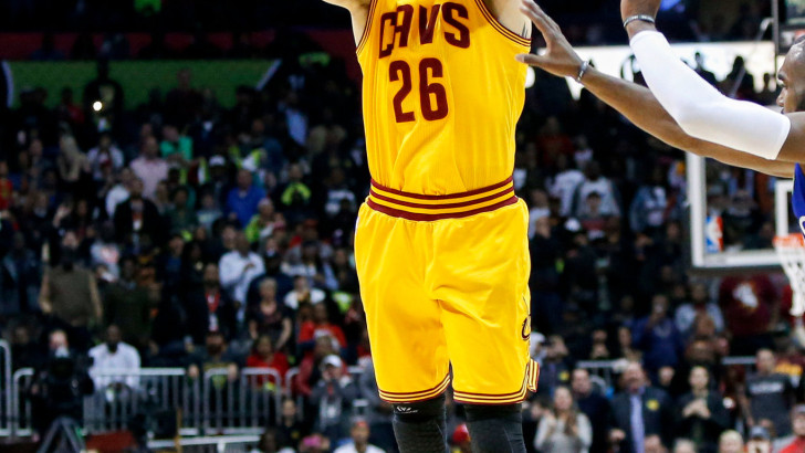 Cavaliers Hit 25 3-Pointers, Setting N.B.A. Record for Regular Season Game