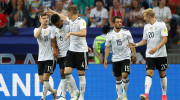 Germany 3, Cameroon 1; Australia 1, Chile 1: Germany and Chile Advance to Confederations Cup Semifinals