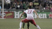 Valeri scores, Timbers beat the Red Bulls 2-0