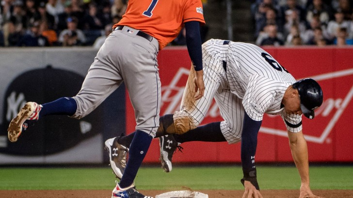 Aaron Judge Carves Out a Zany Footnote to His Heroics