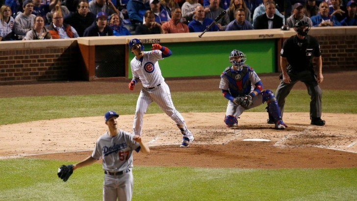 Cubs 3, Dodgers 2 | Los Angeles leads series, 3-1: Cubs Defeat the Dodgers in an N.L.C.S. Battle of the Long Ball