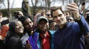 On Tennis: A Day With Roger Federer: A Tennis Ambassador's Work Is Never Done