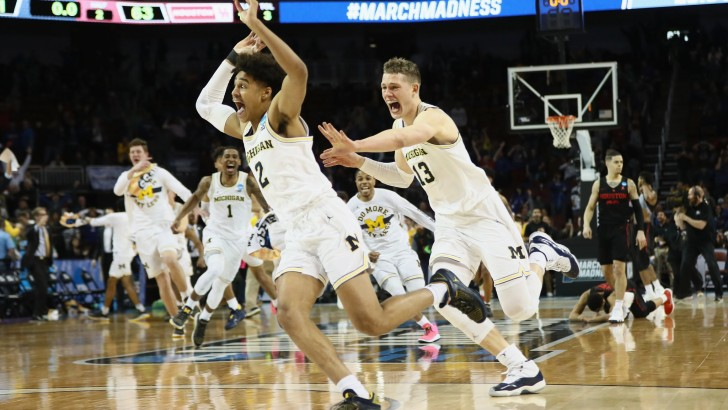 Freshman's Desperate Shot Saves Michigan at the Buzzer