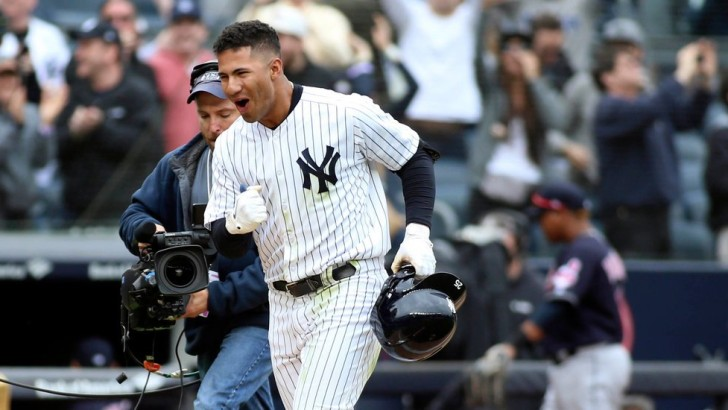 Yankees 7, Indians 4: Yankees' Gleyber Torres Upstages Himself With Walk-Off Homer