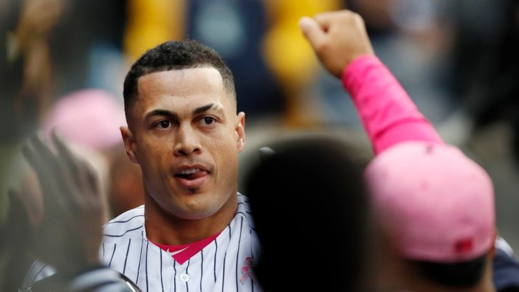 Giancarlo Stanton Tees Off on the Athletics, and the Yankees Win Again
