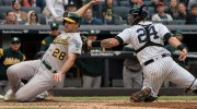 Yankees 7, Athletics 6 | 11 innings: Neil Walker Delivers a Yankees Win, but Give Brett Gardner the Save