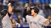 Yankees 3, Blue Jays 0 | 13 innings: After 12 Quiet Innings, Aaron Judge's Blast Lifts the Yankees