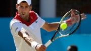 Landmark win as Djokovic reaches Queen's semis