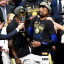 Warriors, in Full Dynasty Mode, Sweep Cavaliers in N.B.A. Finals