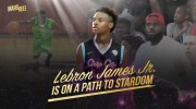 Look back at LeBron James Jr.'s eventful summer