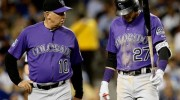 Rockies Lose Trevor Story to Injury and N.L. West Lead to Dodgers
