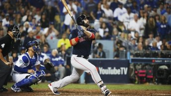 Red Sox 9, Dodgers 6 | Boston leads series, 3-1.: Red Sox Rebound to Defeat Dodgers in World Series Game 4