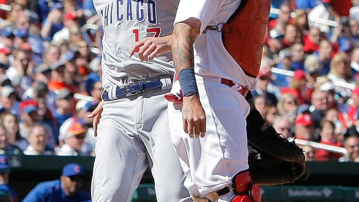 Kris Bryant disrespects St. Louis and Cardinals' Yadier Molina calls him a loser