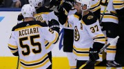 NHL playoffs: Betting odds, lines for Friday's Bruins-Maple Leafs, Flames-Avalanche games