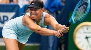 No. 4 Simona Halep rallies to avoid upset in Ohio