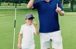 Brandt Snedeker's son Austin sinks his first hole-in-one at age 7