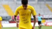 European soccer player reveals 'Justice for George Floyd' message after scoring goal