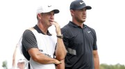 Koepka withdraws after caddie tests positive